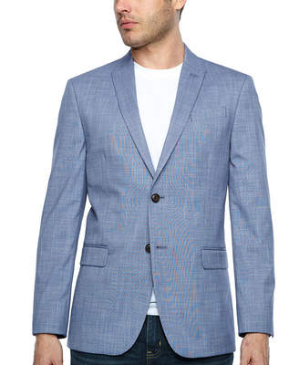 Jf J.Ferrar Slim Fit Pattern Sport Coat - Slim