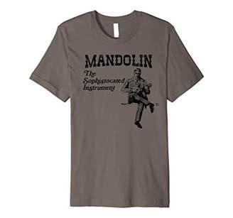 Mandolin: The Sophisticated Instrument Retro Bluegrass Shirt