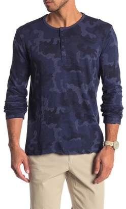 ATM Anthony Thomas Melillo Distressed Camouflage Henley