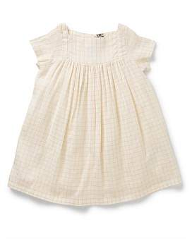 Bonton Girl Dress Golden Lurex(3-6 Years)