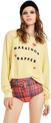 Wildfox Couture Marathon Napper Baggy Beach Jumper | Mellow