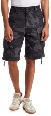 G Star Rovic Loose Camouflage Shorts