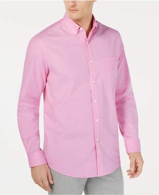 Club Room Men Solid Stretch Oxford Cotton Shirt
