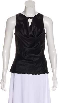 Trina Turk Silk Sleeveless Top