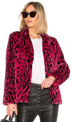 House Of Harlow x REVOLVE Virginia Faux Fur Coat