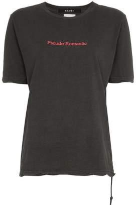 Ksubi Pseudo Romantic text print T-shirt