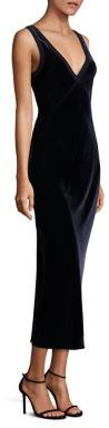 DKNY Velvet Midi Dress $498 thestylecure.com
