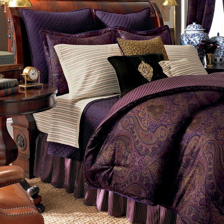 Chaps home preston 3-pc. duvet cover set - full/queen