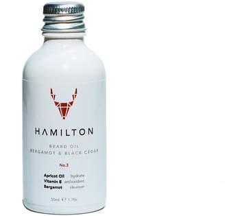 Hamilton Bergamot & Black Cedar Beard Oil