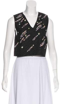 3.1 Phillip Lim Embellished Sleeveless Top