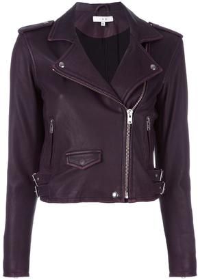 Iro Ashville leather biker jacket $1,077 thestylecure.com