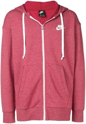 Nike logo full-zip hoodie