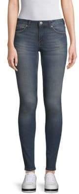 Burnt Blue Skinny Jeans