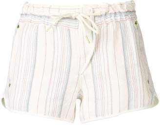 Zadig & Voltaire Zadig&Voltaire stripped pattern shorts