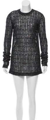 Calvin Klein Collection Structured Knit Dress