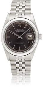 Rolex Vintage Watch Men's 1969 Oyster Perpetual Datejust Watch - Brown