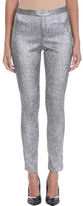 Isabel Marant Silver Lurex Trousers