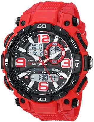 Armitron Sport Men's 20/5270 Analog-Digital Chronograph Resin Strap Watch