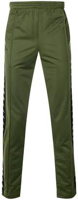 Kappa branded track trousers