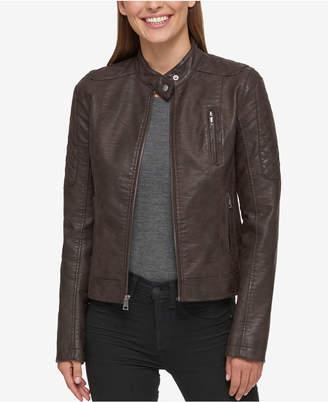 Levi's Faux-Leather Biker Jacket