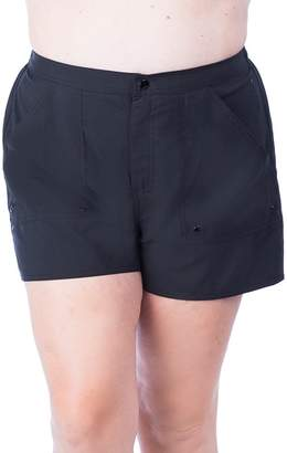 Maxine Solid Plus Size Boardshort
