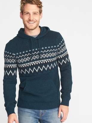 Old Navy Sweater-Knit Hoodie for Men
