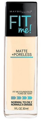 Maybelline® FIT ME!® Matte + Poreless Foundation $5.99 thestylecure.com