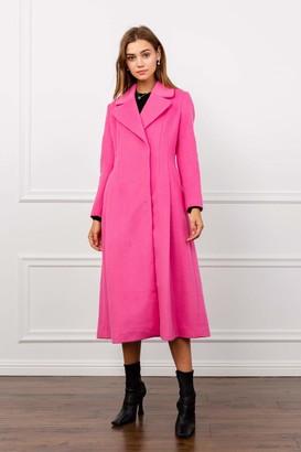 J.ING Pinky Reefer Wool Coat