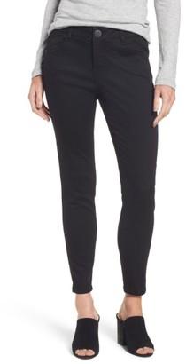 Petite Women's Wit & Wisdom Ab-Solution Stretch Ankle Skinny Jeans $68 thestylecure.com