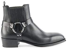 Alexander McQueen Men's Leather Ankle Boots