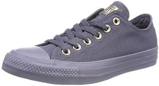 Converse Chuck Taylor All Star Mono Glam Ox Low-Top Sneakers, Grey Dunkelgrau