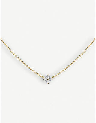 Redline The Alkemistry Shiny 18ct yellow-gold and diamond necklace