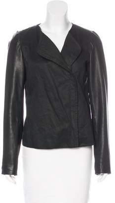 Vince Long Sleeve Zip-Up Jacket