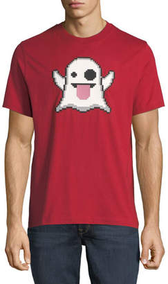 Mostly Heard Rarely Seen Spooky Emoji Graphic T-Shirt