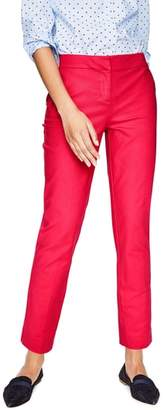 Boden Richmond Polka Dot Stripe Contrast Ankle Pants