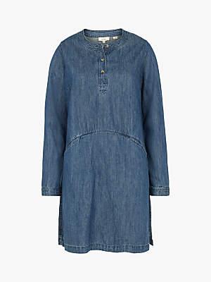 Fat Face Rachel Denim Tunic Dress