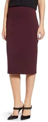 Vince Camuto Ponte Midi Skirt