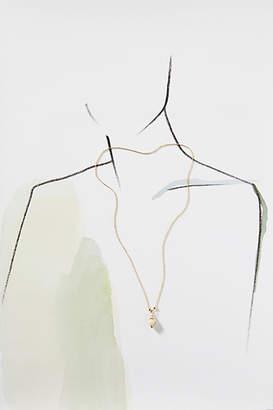 Shashi Ariel Shell 18K Gold Necklace