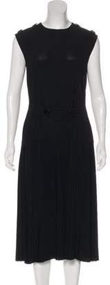 Celine Pleated Midi Dress