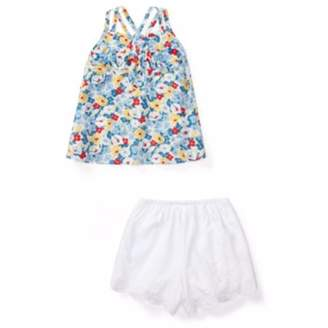 Ralph Lauren Layette Polo Baby Girls Floral Cotton Top & Short Set