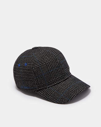 Ted Baker PEPTEE Graphic check baseball cap
