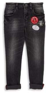 Little Marc Jacobs Toddler's, Little Boy's and Boy's Faded Effect Denim Trousers