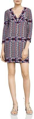 BCBGMAXAZRIA Belle V-Neck Dress $198 thestylecure.com