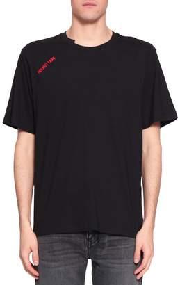 Helmut Lang Logo Cotton T-shirt