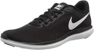 Nike Women's Flex 2016 Rn Black/White/Cool Grey Running Shoe 8.5 Women US