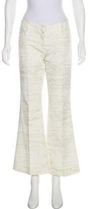 Dolce & Gabbana Mid-Rise Flared Pants