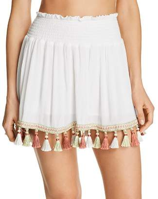 Surf Gypsy Tassel Mini Skirt Swim Cover-Up