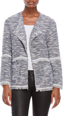 Rafaella Marled Lurex Open Jacket