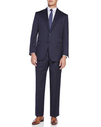 Hickey Freeman Solid Navy Suit