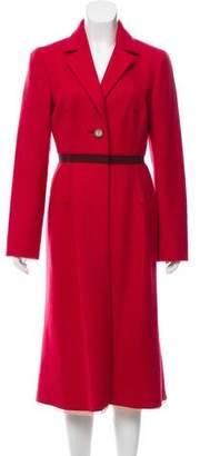 Prada Long Wool Coat